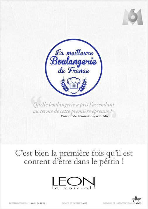 La meilleure Boulangerie de France - Pub Leon